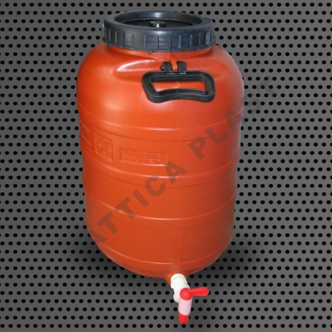 Barrel 50lt with Faucet