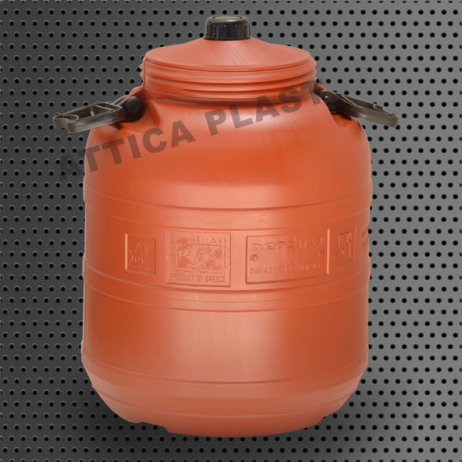 BARREL 40lt WITH SMALL LID