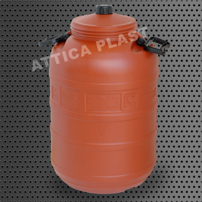 BARREL 50lt WITH SMALL LID